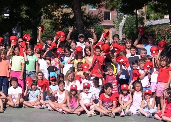 I ragazzi del Campo estivo 2006